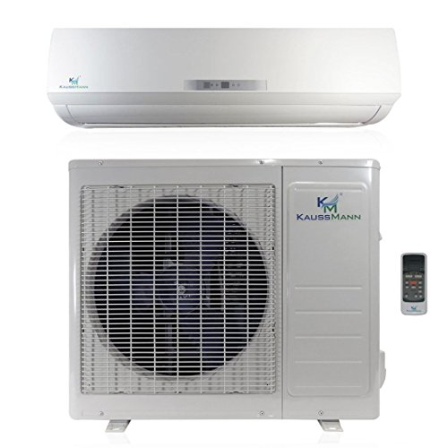 Small Heating And Cooling Units : Btu ton seer ductless system mini split