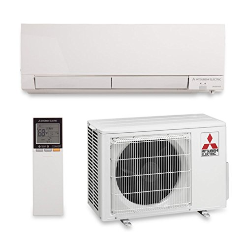 Electric Heat And Air Wall Units : Mitsubishi btu seer wall mount heat pump