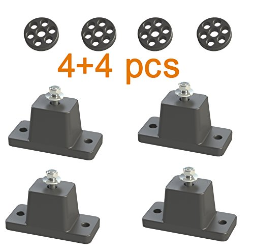 Anti Vibration Shock Absorbing Rubber Mounting Bracket For