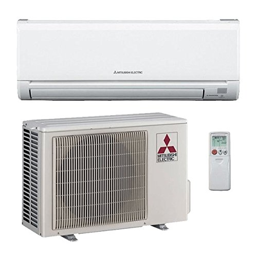 mitsubishi 12 000 btu 23 1 seer single zone ductless mini split air conditioning system ac only. Black Bedroom Furniture Sets. Home Design Ideas